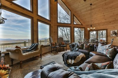 Fantastic view and gathering area!