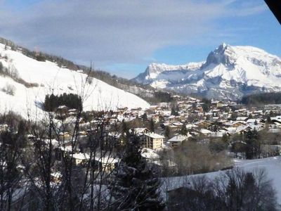Photo for Chalet beautiful mountain view in Megève - 4 Rooms 8 people