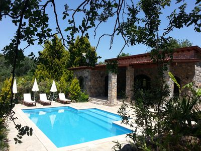 Photo for Villa Amara is a cosy stone build holiday home with not over looked private pool