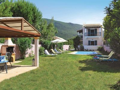 Photo for 3 bedroom Villa, sleeps 6 in Chalikounas with Pool, Air Con and WiFi