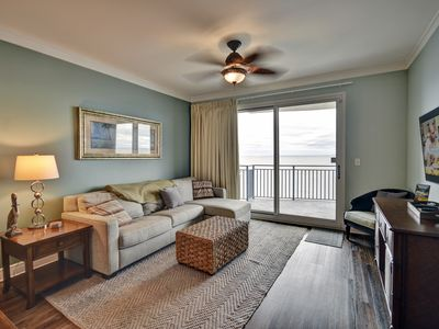 Photo for Free Beach Svc 2019- Luxurious Udated 2 BR/Bunk/3 Bath - Penthouse Views