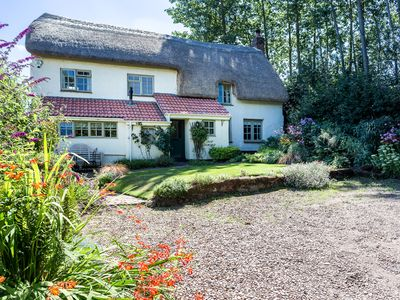 Photo for Country Cottage On Organic Farm 3 bedrooms near Exeter, Moors and Coast
