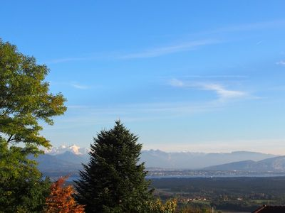 Photo for Beautyfull 2 rooms apartment in Grilly - amazing view 18km geneva