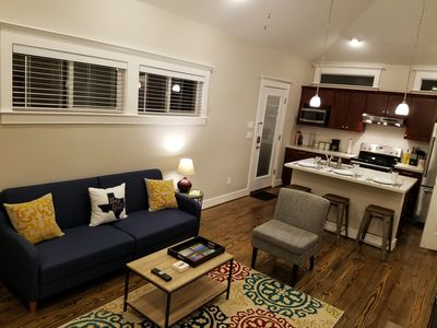 Photo for Private Guesthouse In Historic Houston Heights