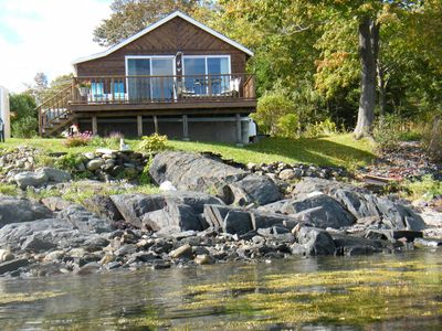 Photo for Oceanfront with Spectacular Views of Penobscot Bay