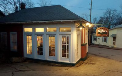 Photo for Texaco Bungalow - Historic Gas Station Suite, Quaint, and Quirky, Large Deck, Full Kitchen