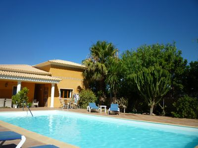 Photo for Luxury Villa With Private Heated Pool and Hot Tub. 10/15 mins from coast