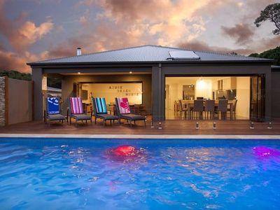 Photo for Azure Beach House - with Solar Heated Pool