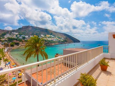 Photo for 2 bedroom Apartment, sleeps 5 with Air Con and Walk to Beach & Shops
