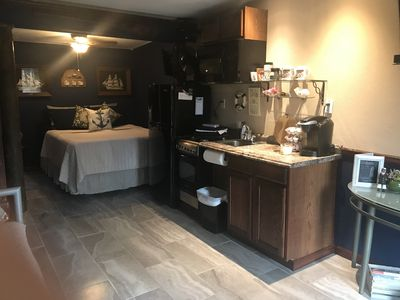 newly renovated Captain's Quarters