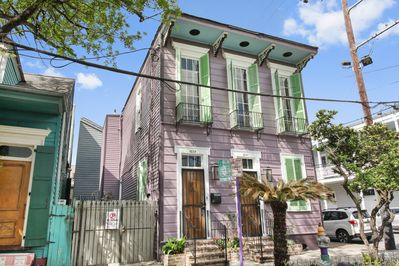 Frenchman's Perch, the second floor of Historic Marigny Home