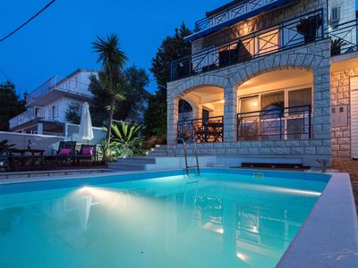 Photo for Villa Martina 10 m from the beach with Swimingpool