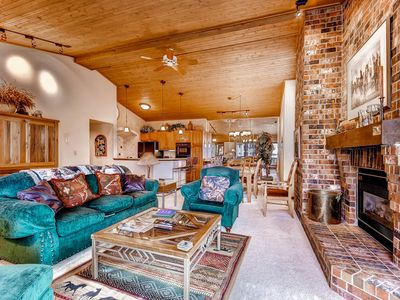 Photo for Ski-In Condo w/Access to Ski Valet, Hot Tubs, Fire Pit & More!