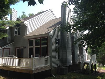 Photo for Half-mile from BB Lodge-Sleeps 10-12-Wi-Fi-Wood burning fireplace-cozy rooms