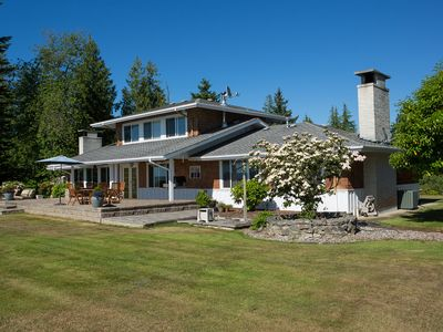 Photo for High bank waterfront retreat