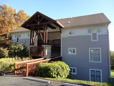Photo for 2 BR condo with sleeping loft, Mountain Escape!