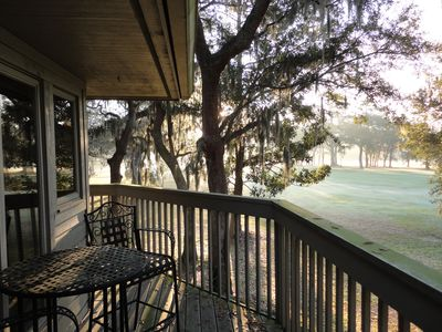 Photo for VERY Private Golf Views, 3/4 Mile To Beach, Five-Star Reviews, Pet Friendly