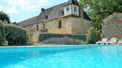 Photo for SARLAT- 3Bd+3Bth+HEATED POOL+GAS BBQ+WIFI+UKTV+LOGFIRE+15min WALK TO BISTRO