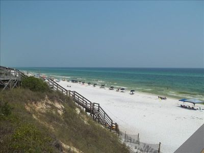 Private beach for Seabreeze residents