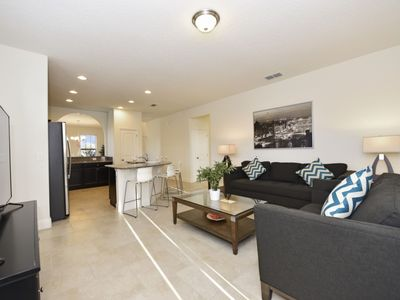 Photo for Disney On Budget - Solterra Resort - Feature Packed Contemporary 5 Beds 4 Baths Villa - 7 Miles To Disney