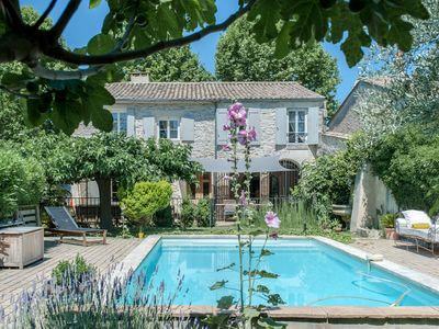 Photo for VILLAGE HOUSE WITH LARGE GARDEN AND POOL BETWEEN MONTPELLIER AND NIMES