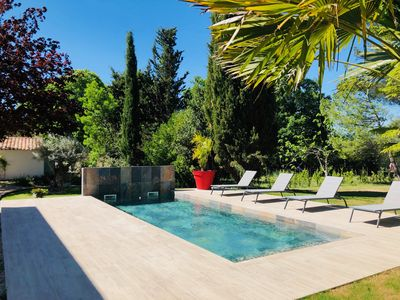 Photo for Charming villa 150m2 with swimming pool in the Aix countryside