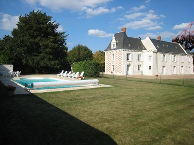 Photo for CASTLE for 10 personss with swimming pool in AMBOISE