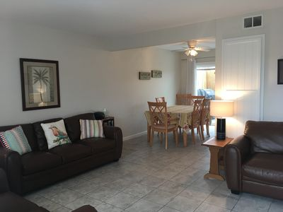 Photo for 1 Block Walk To Beach Access - 2 Bedroom, Non-Ocean View
