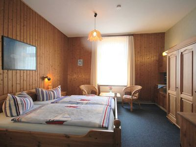 Photo for Room 2 with shared shower / WC Ground Floor - Scandinavia Room - Pension Pohnsdorfer Mühle Guest Room