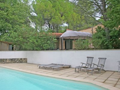 Photo for Provencal villa with private pool within walking distance of the village Fayence