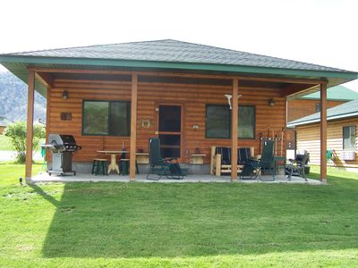 Photo for Yellowstone Riverfront Cabin, Sleeps 9, $171-$295/nt, 300 yards to Yellowstone