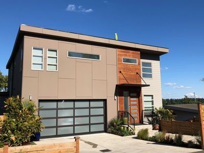 Photo for West Seattle Modern Living with Mt. Rainier Views and Rooftop Getaway
