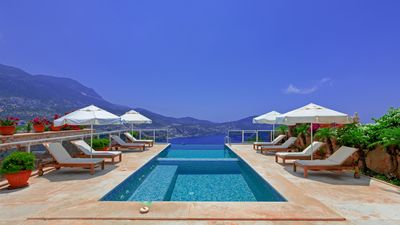 Photo for Opulent Villa Private Infinity Pool And Stunning Panoramic Sea & Mountain views