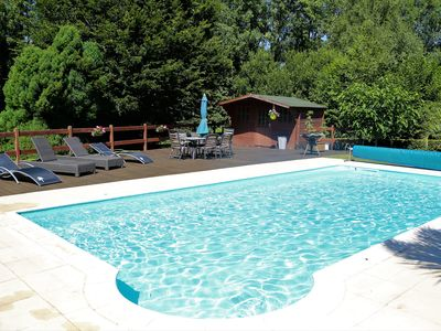Photo for Longere With Heated Pool
