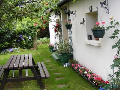 Photo for 1BR Cottage Vacation Rental in Bazaiges, Centre