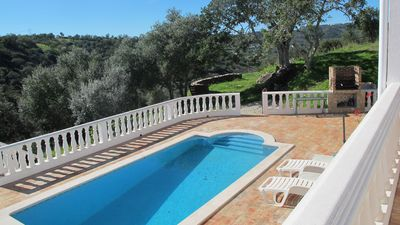 Photo for Secluded tranquil villa with private pool in magnificent setting; and Wifi