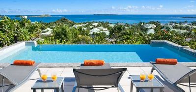 Villa La Sarabande  -  Ocean View - Located in  Fabulous Orient Bay with Private Pool