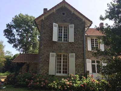 Photo for House (5 rooms). Bois de la Chaise, Noirmoutier. 5 minutes from the beaches