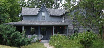 Photo for Beautiful Heritage Log Country Home on 75 Acres