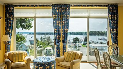 Photo for Luxury Main Street Condo with Spectacular Waterfront Views from Balcony