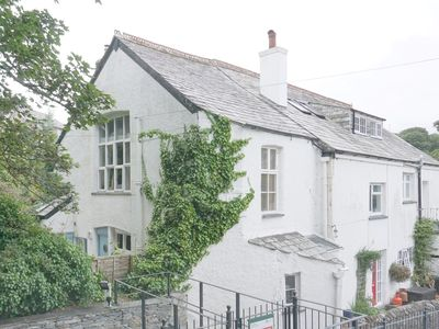 Photo for Riverside cottage with parking available in picturesque Boscastle, Cornwall.