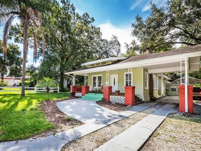 Photo for Craftsman Bungalow and Cottage in Seminole Heights, the heart of Central Tampa!