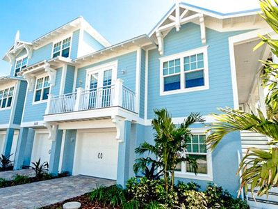 Photo for Newly built home with private pool only a few blocks away from Gulf beaches!