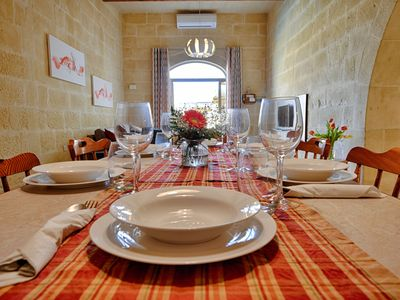 Photo for Gozo Inn Savina sleeps 6 people self catered house with private pool