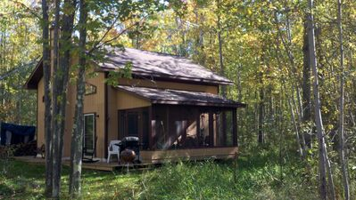 Photo for Cottage Nestled in the Woods - Get Away From It All - Firepit