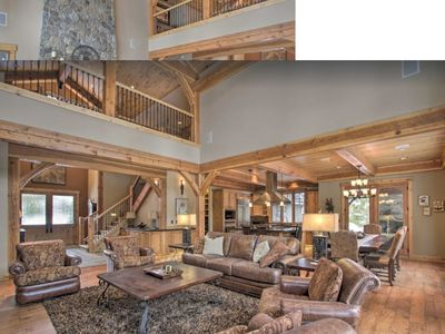 Photo for NEW! Upscale Suncadia Resort Getaway w/ Game Room (outdoor fireplace)