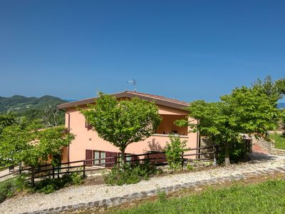 Photo for Charming Farmhouse in Apecchio marche with Private Terrace