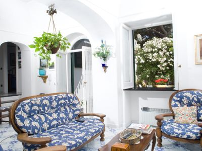 Photo for Beautiful villa in the center of Capri with garden close to shopping area