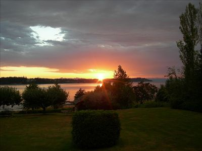 Morning Sunrise over Comox Bay
