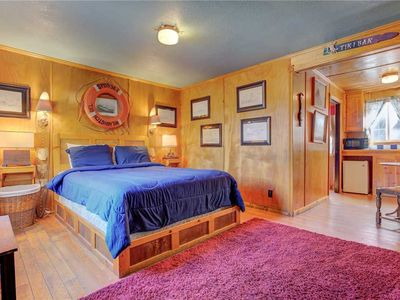 Photo for Compact Retro Sweetness in This Wood-lined Suite, Part of the Historic Anchor Inn in Lincoln City!